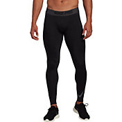 Nike Men's Pro Therma Compression Tights in Black/Anthracite/Dk Gry
