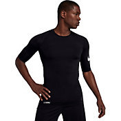 Nike Pro Men's 1/2 Sleeve Football Shirt