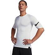 Nike Pro Men's 1/2 Sleeve Football Shirt