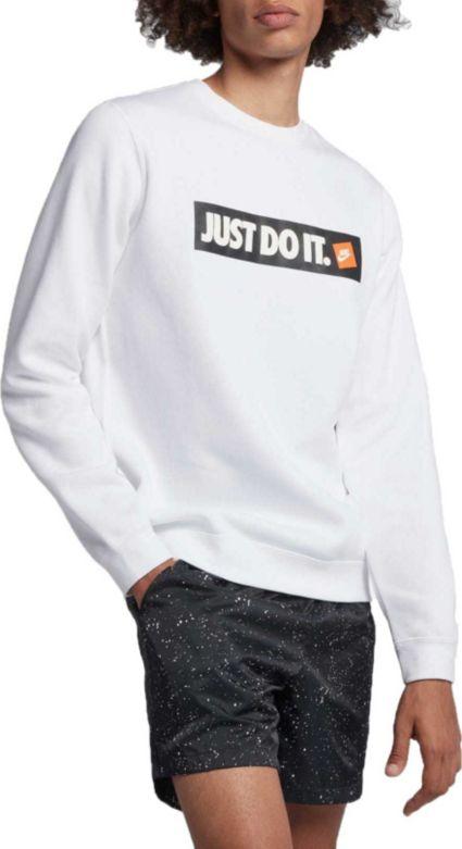super popular c3298 316d7 Nike Men s Sportswear Just Do It Fleece Pullover. noImageFound .