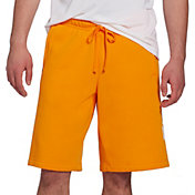 Nike Men's Sportswear Just Do It Fleece Shorts in Orange Peel