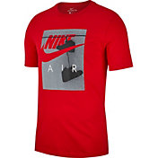 Nike Men's Sportswear Air-Inspired Fence Photo Graphic Tee
