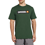 Nike Men's Sportswear Swoosh Bumper Sticker Graphic Tee