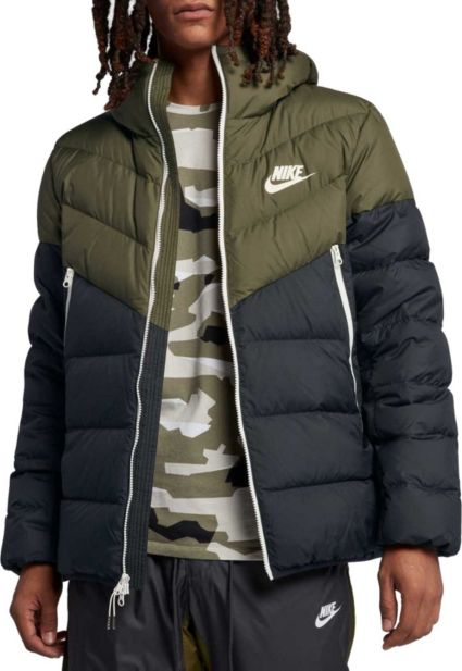 Nike Men s Sportswear Windrunner Down Jacket. noImageFound 5c355e657
