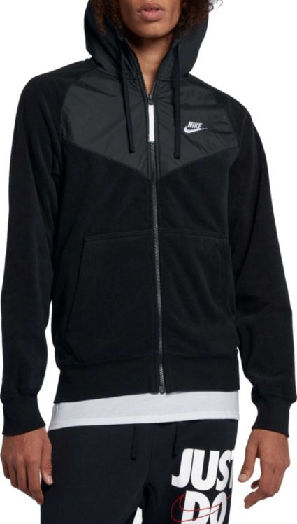 Nike Men s Sportswear Windrunner Full-Zip Hoodie  6ac489002