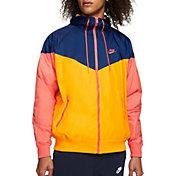 Nike Men's Sportswear 2019 Hooded Windrunner Jacket in University Gold