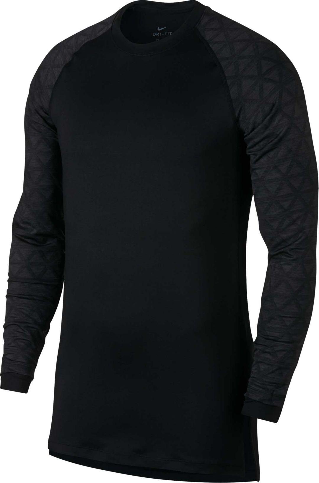 b281f531 Nike Men's Pro Therma Utility Long Sleeve Shirt | DICK'S Sporting Goods