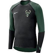 Nike Men's Milwaukee Bucks Dri-FIT Long Sleeve Shirt