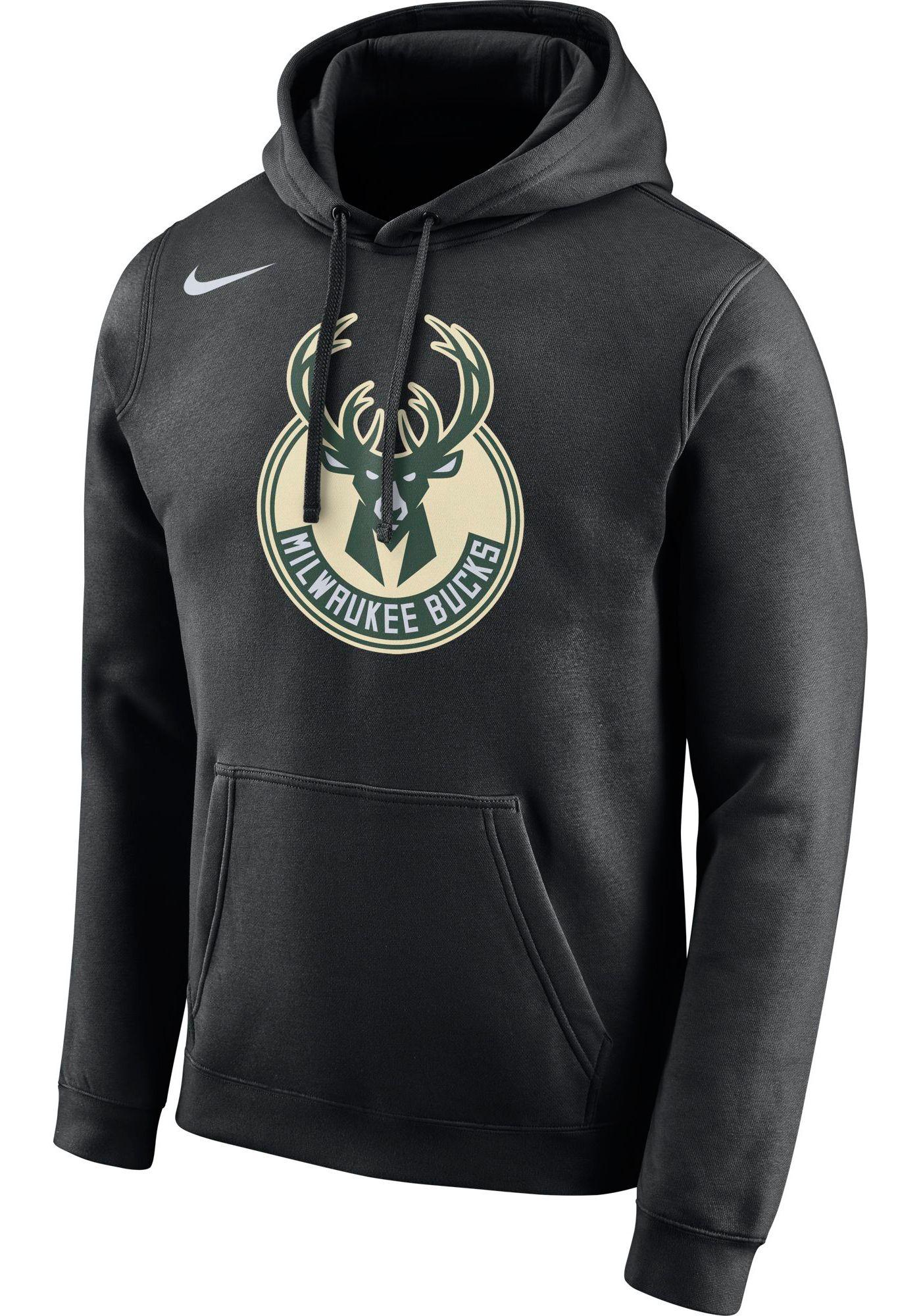 Nike Men's Milwaukee Bucks Pullover Hoodie