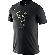 Nike Men's Milwaukee Bucks Dri-FIT Split Logo T-Shirt