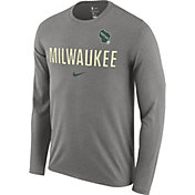 Nike Men's Milwaukee Bucks Dri-FIT Facility Long Sleeve Shirt
