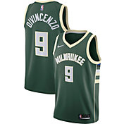 Nike Men's Milwaukee Bucks Donte DiVincenzo #9 Green Dri-FIT Swingman Jersey