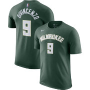 Nike Men's Milwaukee Bucks Donte DiVincenzo #9 Dri-FIT Green T-Shirt