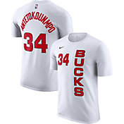 Nike Men's Milwaukee Bucks Giannis Antetokounmpo Dri-FIT Earned Edition T-Shirt