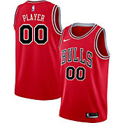 Nike Men's Full Roster Chicago Bulls Red Dri-FIT Swingman Jersey