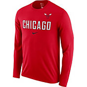 Nike Men's Chicago Bulls Dri-FIT Facility Long Sleeve Shirt