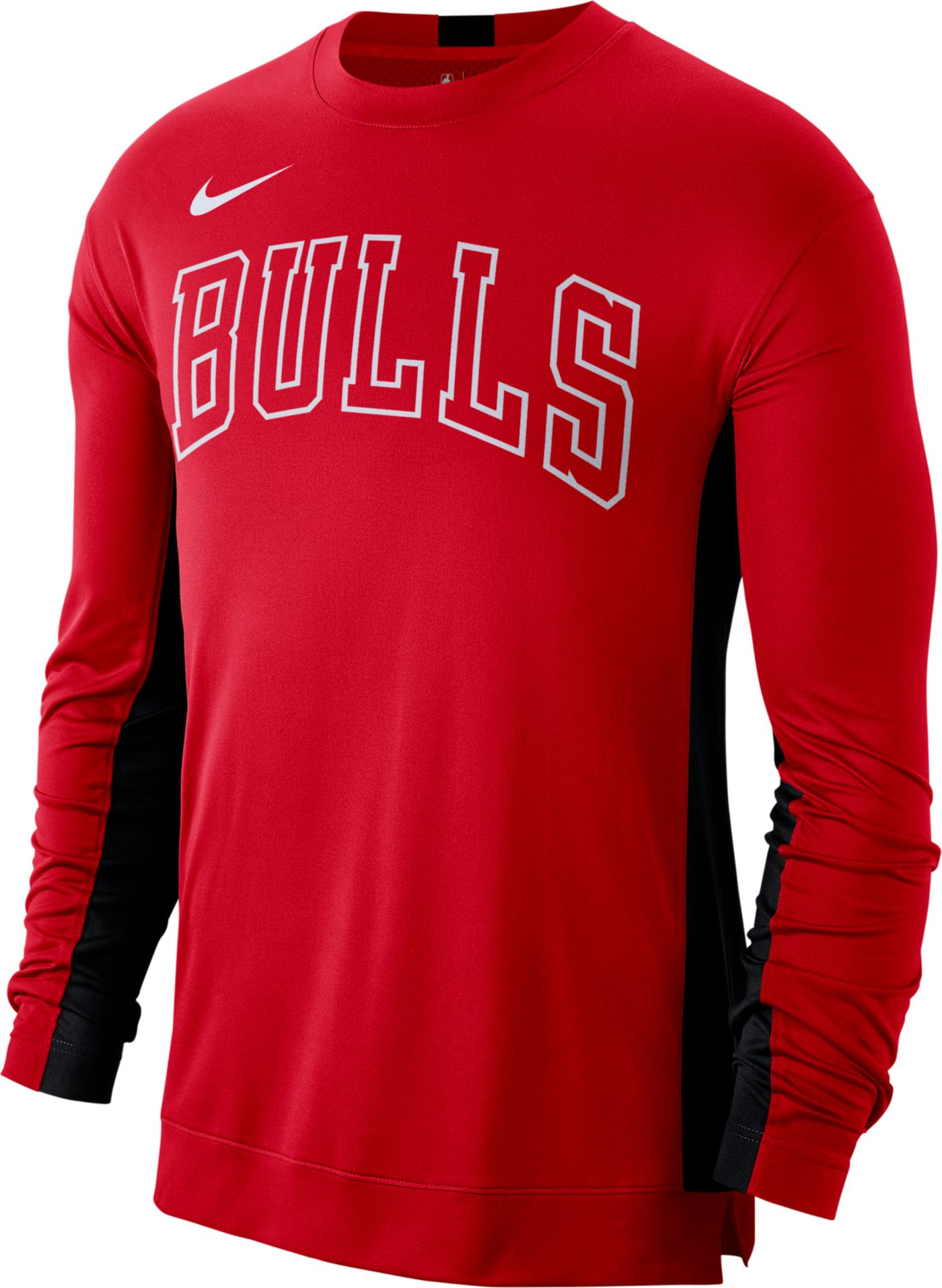 Nike Men's Chicago Bulls Dri-FIT Long Sleeve Shooting  Shirt