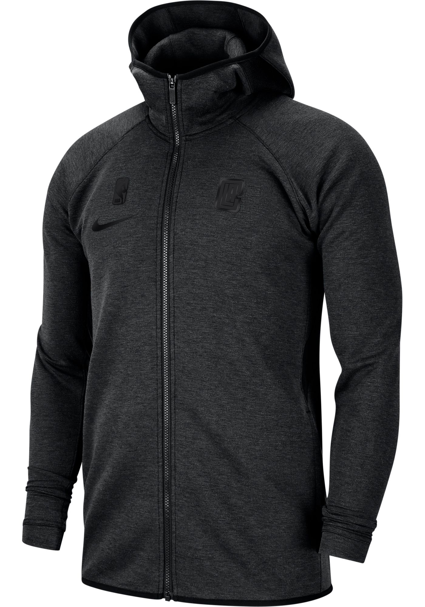Nike Men's Los Angeles Clippers On-Court Dri-FIT Showtime Full-Zip Hoodie