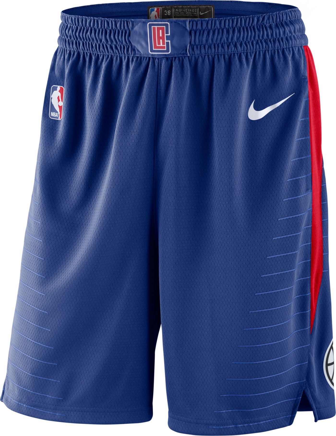 Nike Men's Los Angeles Clippers Dri-FIT Swingman Shorts
