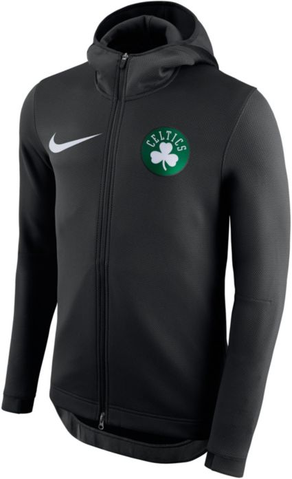 10f1af7dc4 Nike Men s Boston Celtics On-Court Therma Flex Showtime Full-Zip Hoodie