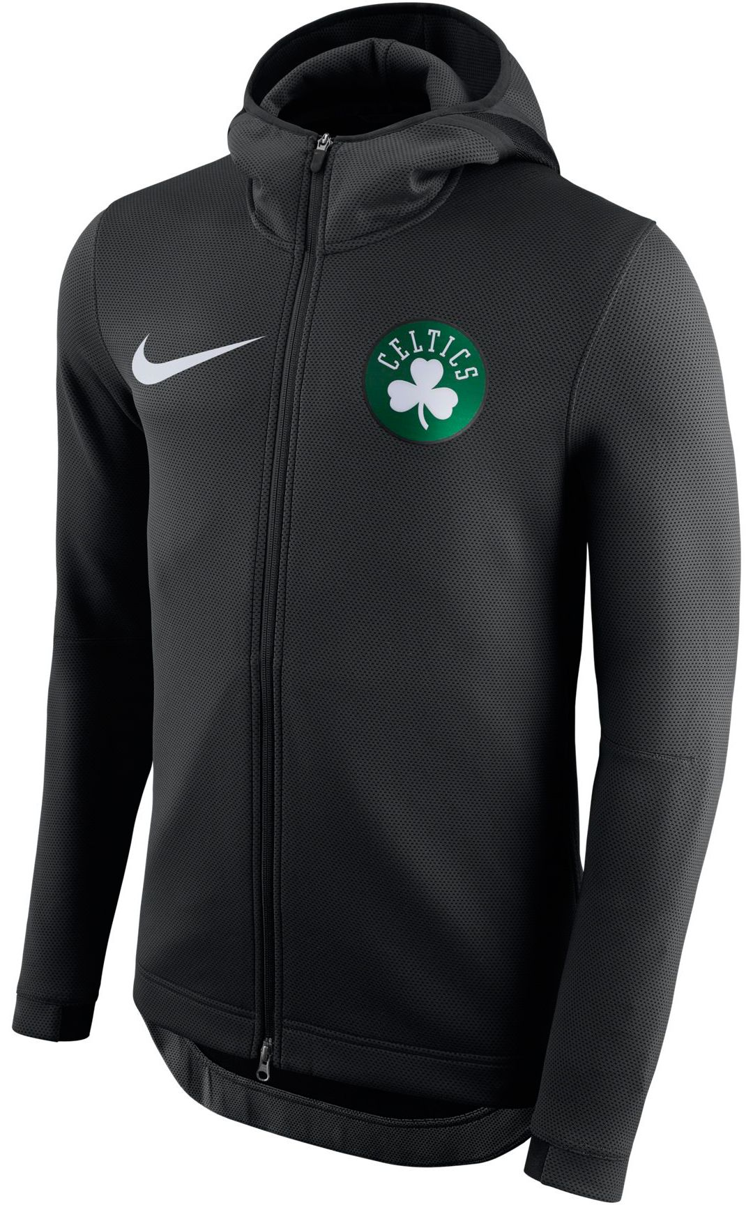 factory price 247d1 1c447 Nike Men's Boston Celtics On-Court Therma Flex Showtime Full-Zip Hoodie