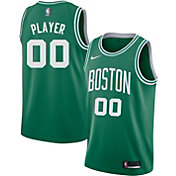 Nike Men's Full Roster Boston Celtics Kelly Green Dri-FIT Swingman Jersey