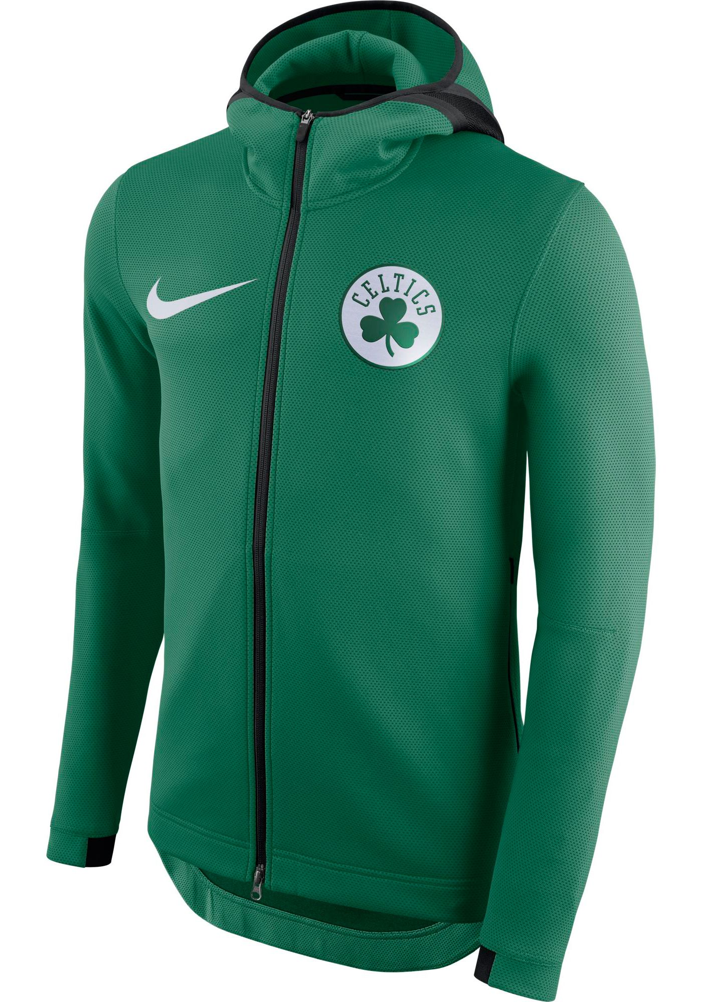 Nike Men's Boston Celtics On-Court Therma Flex Showtime Full-Zip Hoodie