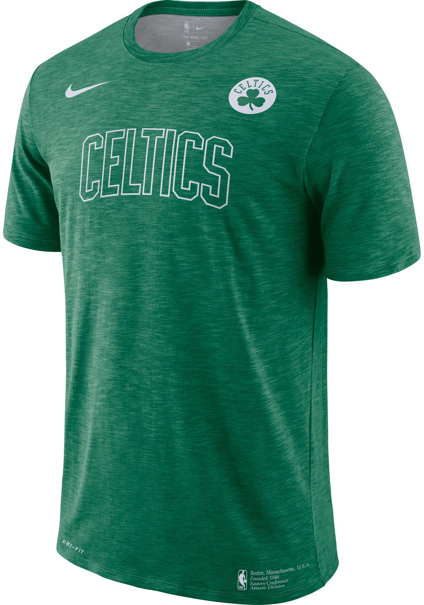 Nike Men's Boston Celtics Dri-FIT Facility T-Shirt