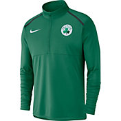 Nike Men's Boston Celtics Dri-FIT Element Half-Zip Pullover
