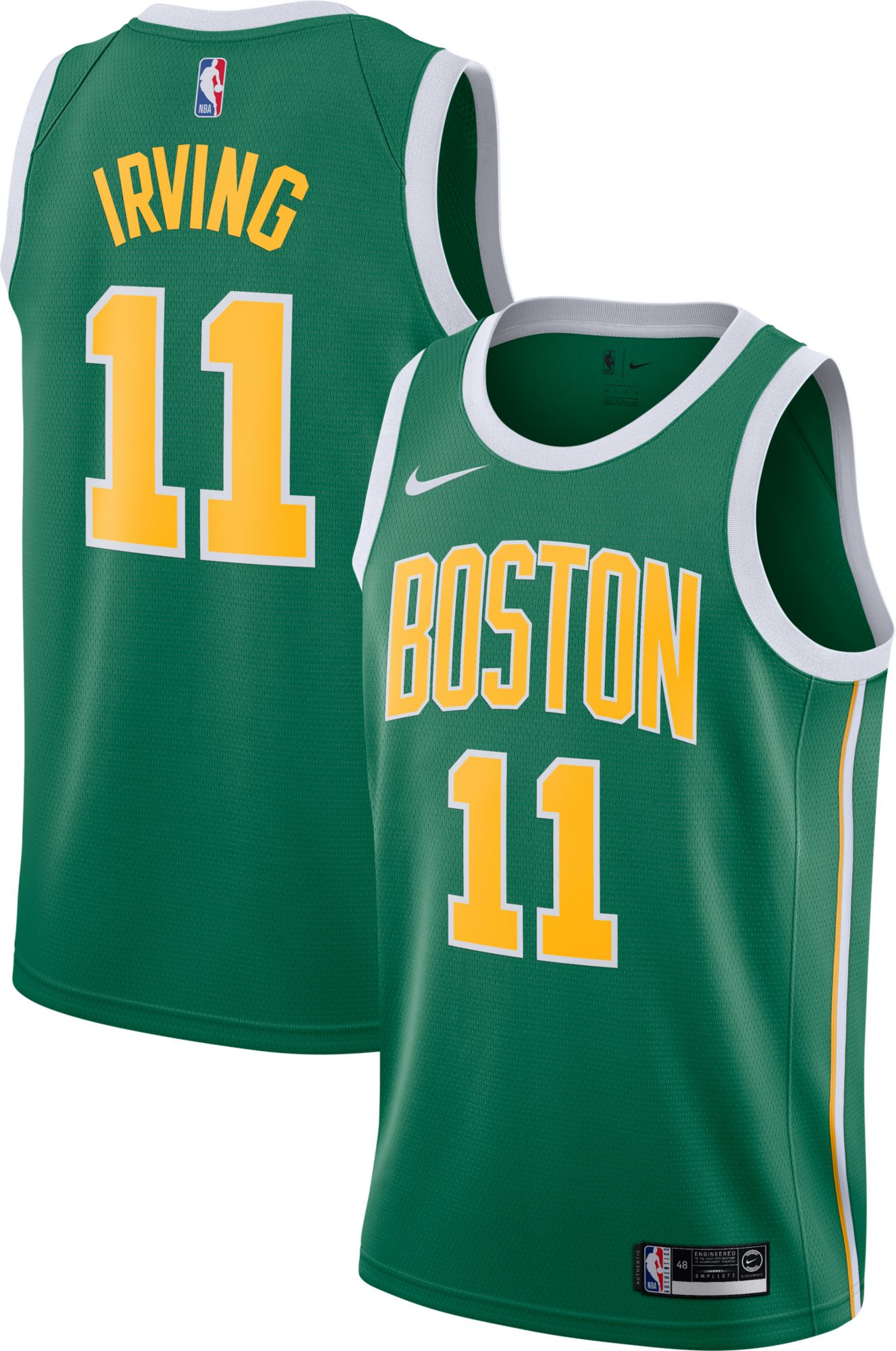 a1be4ae9492 Nike Men s Boston Celtics Kyrie Irving Dri-FIT Earned Edition ...