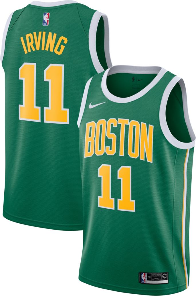 e674b5fb3709 Nike Men s Boston Celtics Kyrie Irving Dri-FIT Earned Edition Swingman  Jersey 1