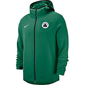 Nike Men's Boston Celtics On-Court Dri-FIT Showtime Full-Zip Hoodie