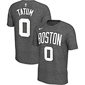 Nike Men's Boston Celtics Jayson Tatum #0 Dri-FIT Grey T-Shirt
