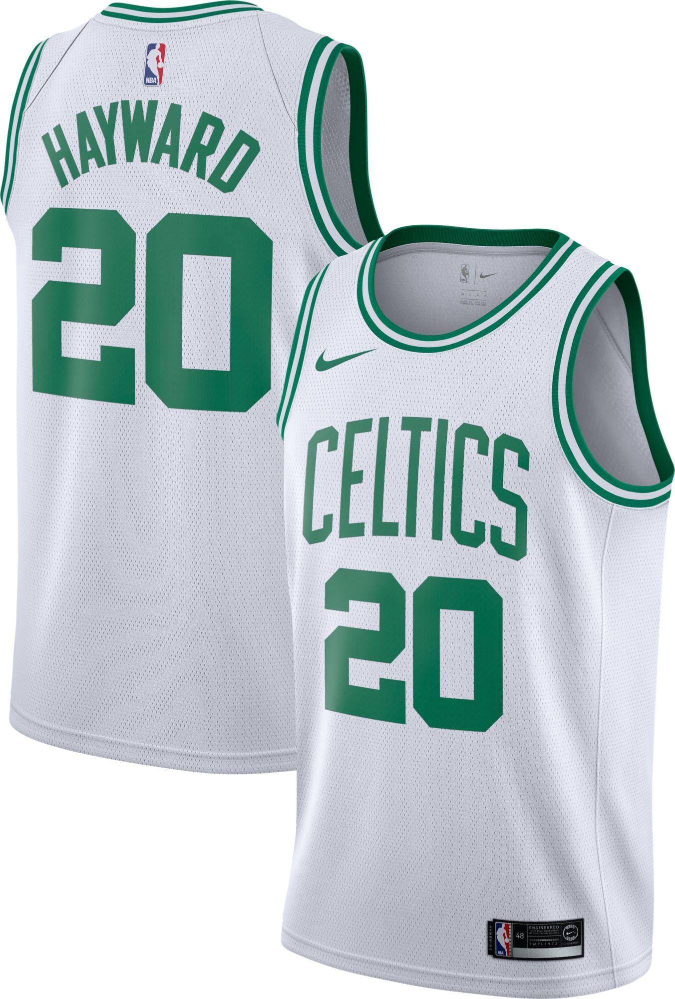 94c1b2222 ... new zealand nike mens boston celtics gordon hayward 20 white dri fit swingman  jersey d758c fae47