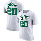 Nike Men's Boston Celtics Gordon Hayward #20 Dri-FIT White T-Shirt