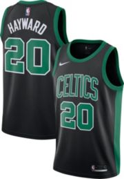 buy popular 84a52 a85f8 Nike Men's Boston Celtics Gordon Hayward #20 Black Dri-FIT Swingman Jersey