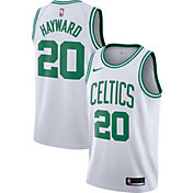 Nike Men's Boston Celtics Gordon Hayward #20 White Dri-FIT Swingman Jersey