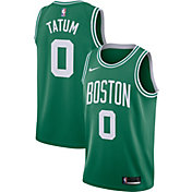Nike Men's Boston Celtics Jayson Tatum #0 Kelly Green Dri-FIT Swingman Jersey