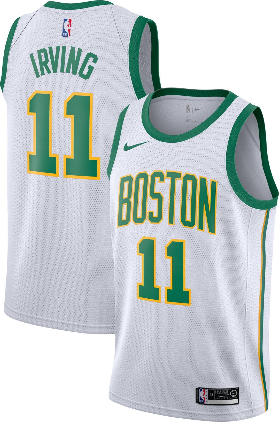 73436699ea5 Nike Men's Boston Celtics Kyrie Irving Dri-FIT City Edition Swingman Jersey  1