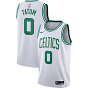 Nike Men's Boston Celtics Jayson Tatum #0 White Dri-FIT Swingman Jersey