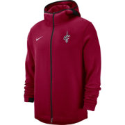 Nike Men's Cleveland Cavaliers On-Court Dri-FIT Showtime Full-Zip Hoodie