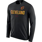 Nike Men's Cleveland Cavaliers Dri-FIT Facility Long Sleeve Shirt