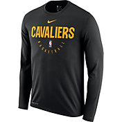 Nike Men's Cleveland Cavaliers Dri-FIT Practice Long Sleeve Shirt