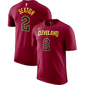 Nike Men's Cleveland Cavaliers Collin Sexton #2 Dri-FIT Burgundy T-Shirt