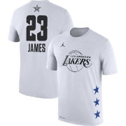 Jordan Men's 2019 NBA All-Star Game LeBron James Dri-FIT White T-Shirt