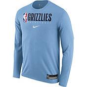 Nike Men's Memphis Grizzlies Dri-FIT Practice Long Sleeve Shirt