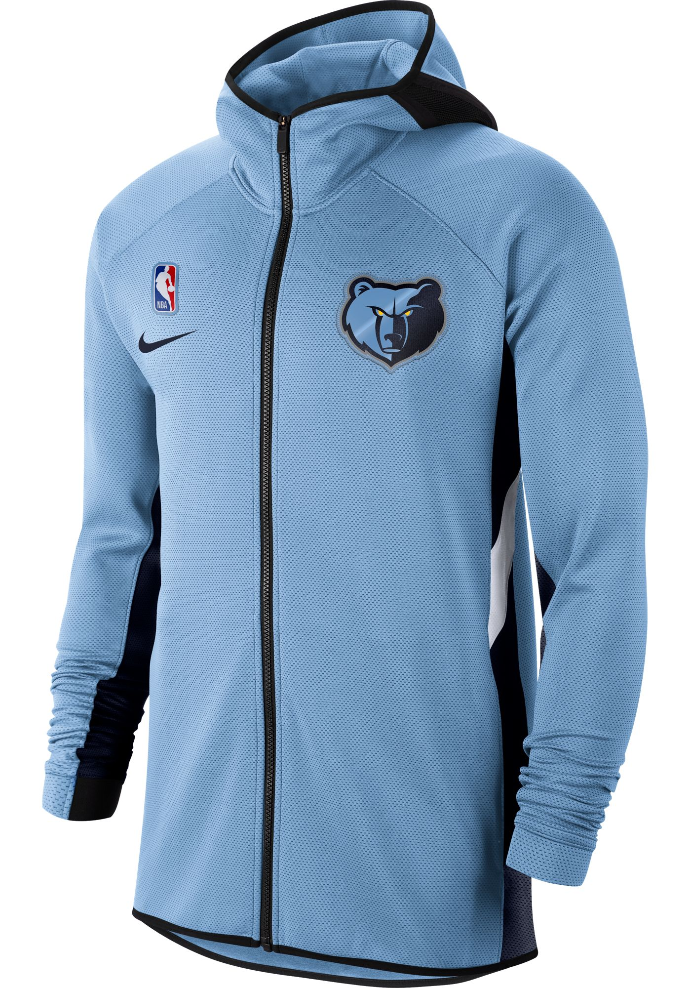 Nike Men's Memphis Grizzlies On-Court Therma Flex Showtime Full-Zip Hoodie