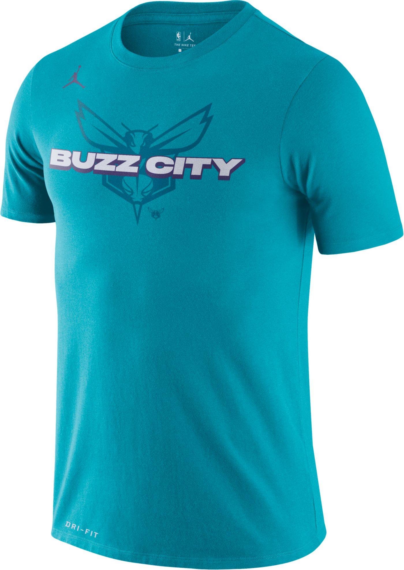 Jordan Men's Charlotte Hornets Dri-FIT Mantra T-Shirt