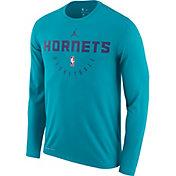 1950a27bf1ced3 Product Image · Jordan Men s Charlotte Hornets Dri-FIT Practice Long Sleeve  Shirt
