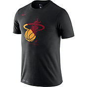 Nike Men's Miami Heat Dri-FIT Split Logo T-Shirt